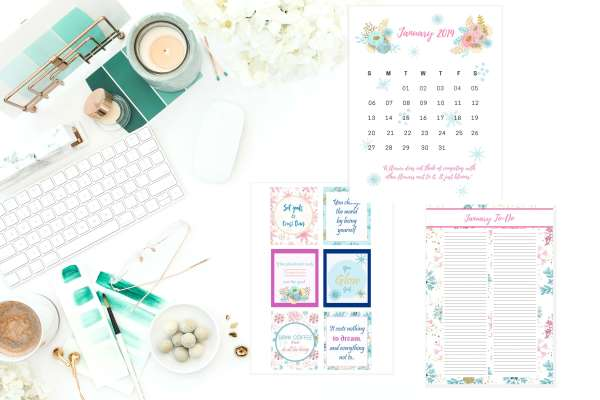 free planner stickers. Winter planner stickers.