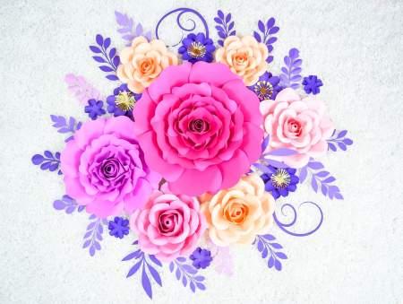 paper rose tutorial by Abbi Kirsten