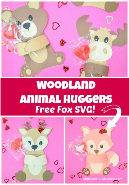 Free fox svg. Woodland animals.