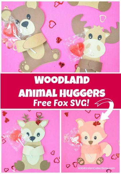 Free fox svg. Woodland animals.