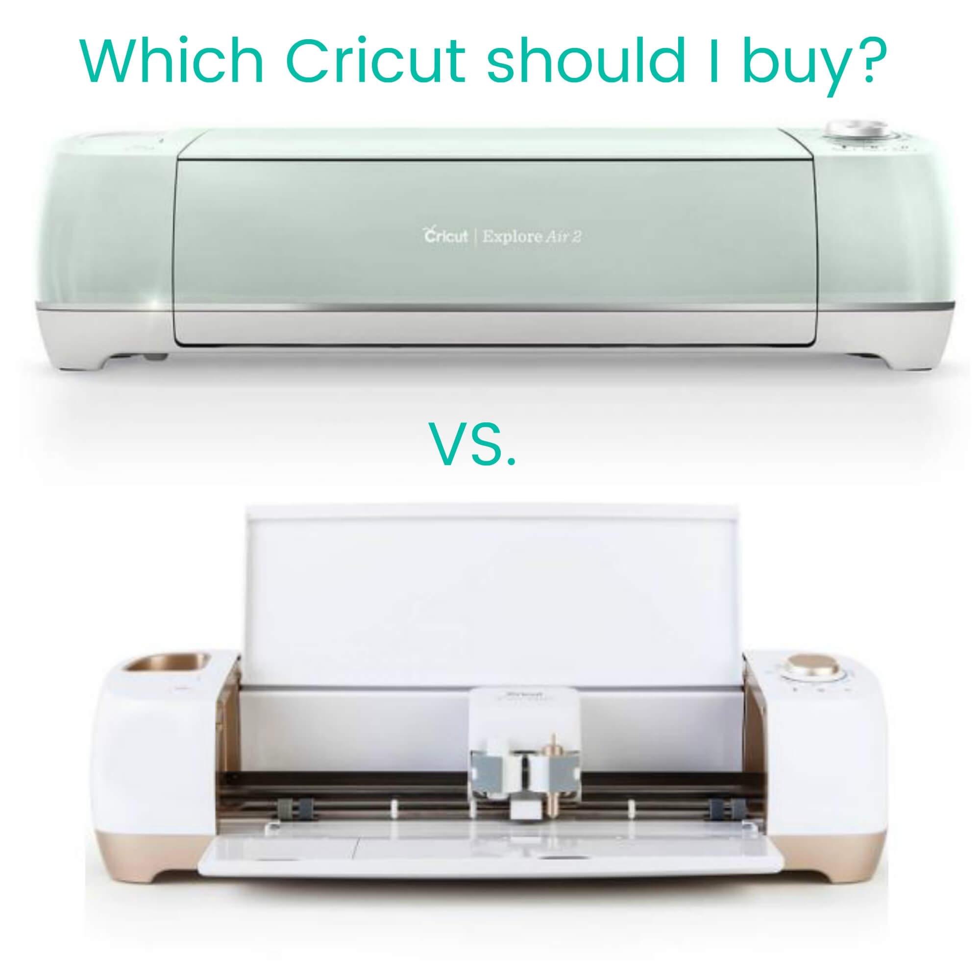 Cricut Maker, Explore, and Joy machines Buyer's Guide- What Cricut Machine is Best for Me?