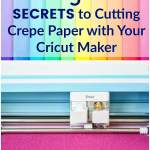 How to Cut Crepe Paper with the Cricut Maker: 5 tips and tricks you need to know. If your crepe paper isn't cutting correctly you need to read guide!