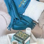 DIY Hallmark movie Christmas blanket gift
