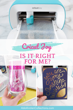 Is the Cricut Joy machine right for me? What can you make with the Cricut Joy.