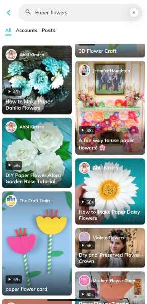 Tangi is very concentrated in the DIY niche - focusing especially on video tutorials that involve crafting, cooking, decor, lifestyle, and beauty.