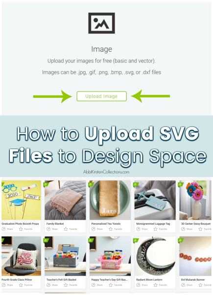 How to upload SVG files to Cricut Design Space.