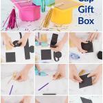 Graduation cap paper gift boxes