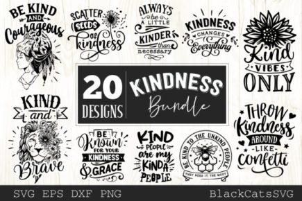 kindness SVG bundle