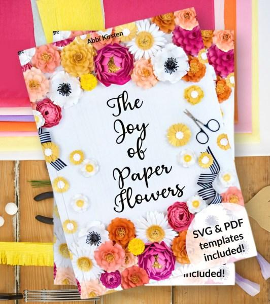 The Joy of paper flowers bouquet