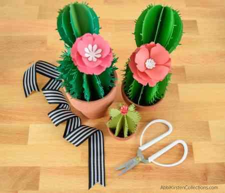 Cactus craft tutorial