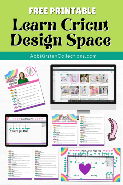 Learn Cricut design space. Free tutorials to help beginner's learn how to use Cricut design space