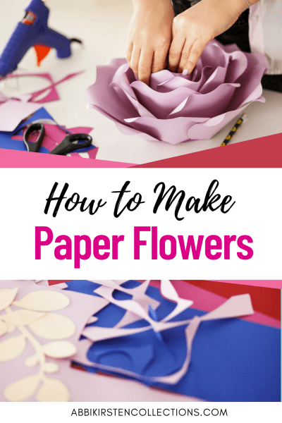 So you want to make paper flowers? Learn what supplies you need, how to stem small blooms or hang giant paper flowers on your walls and more!