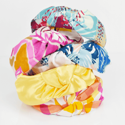 No-Sew Top Knot Headband Tutorial – Free Headband Pattern