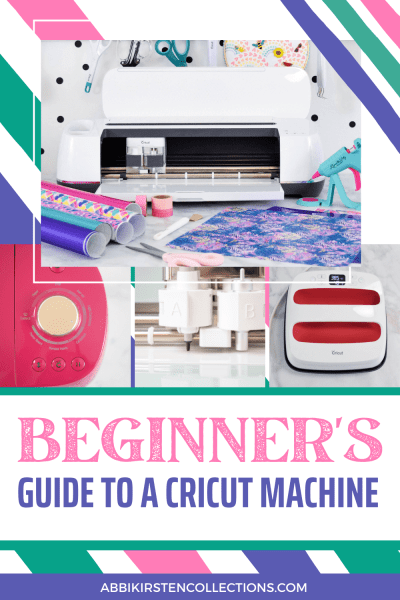 Beginner's guide to learning how to use a Cricut machine.