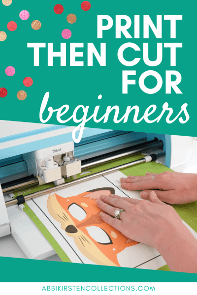 How to print then cut with your Cricut Maker or Cricut Explore machines.