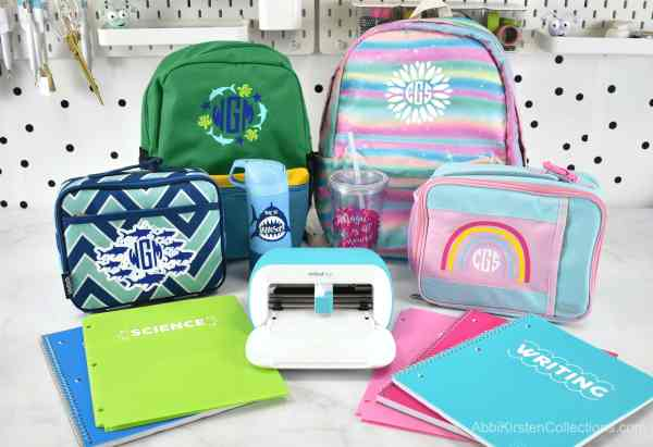 How to use Smart iron on for backpacks and lunch boxes.