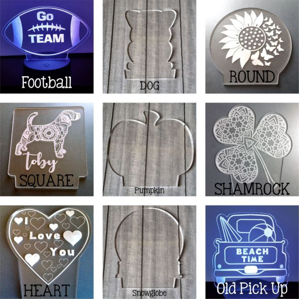 Acrylic blanks for engraving with the Cricut Maker