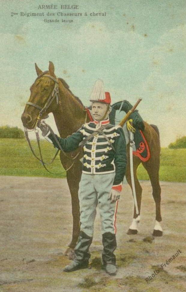 Roosen 2 Régiment des chasseurs à cheval grande tenue 001
