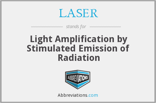 LASER - Light Amplification by Stimulated Emission of ...
