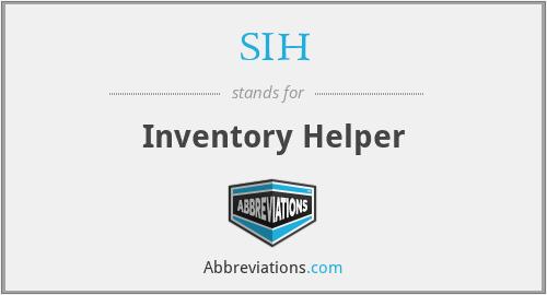 sih inventory helper