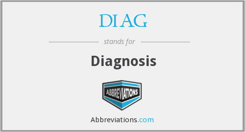 What is the abbreviation for Diagnosis?