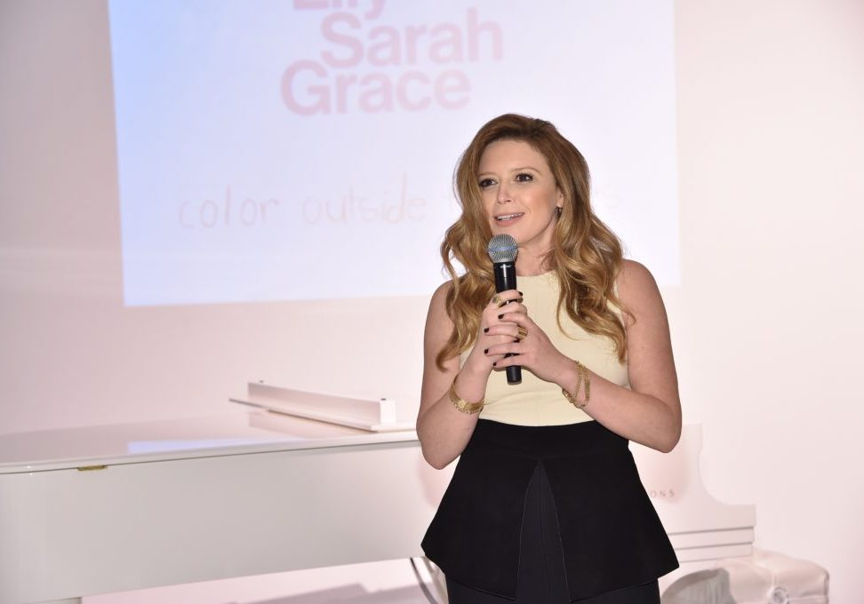 LilySarahGrace Presents Color Outside The Lines on October 25, 2014 in New York City.