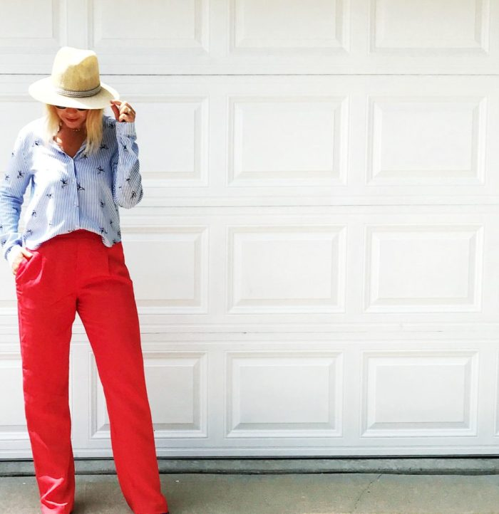 a6a4e55dd1 Below are some of my favorite styles of red pants in lots of different  styles. Pencil
