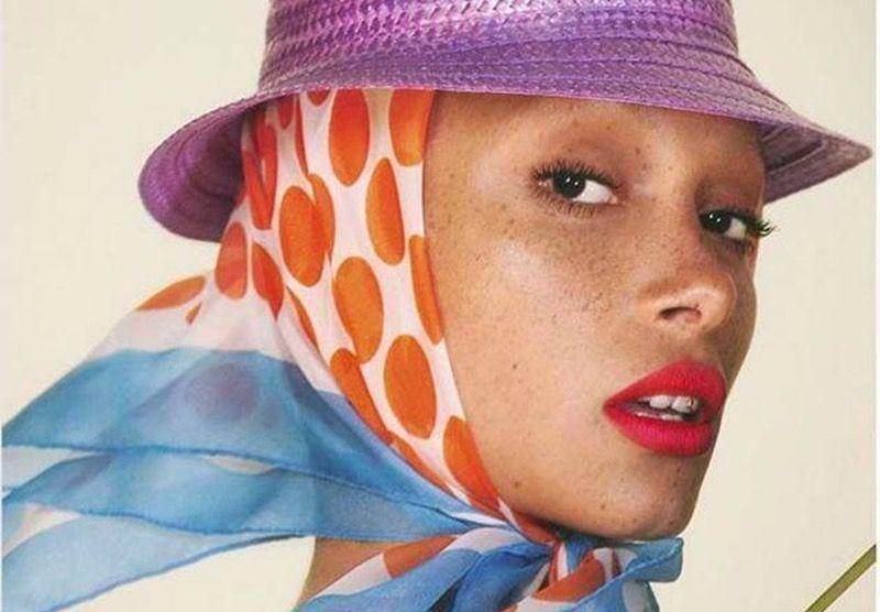Adwoa Aboah devient le nouveau visage de Marc Jacobs Beauty
