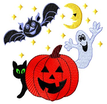 HALLOWEEN EMBROIDERY PATTERNS  EMBROIDERY DESIGNS