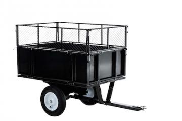 Remorque tracteur tondeuse  remorque de jardin  chariot de jardin