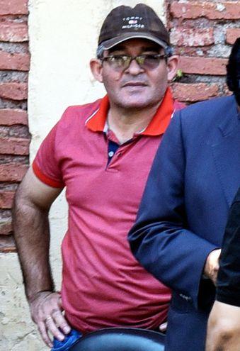 Comisario principal Nilson César Salinas, cuando fue a declarar a la Fiscalía Antidrogas.