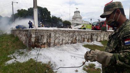 Resultado de imagen para accidente aereo en ñu guasu