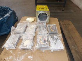 Fotografía sin fecha muestra parte d ela cocaína encontrada en un contenedor en Hamburgo, Alemania.