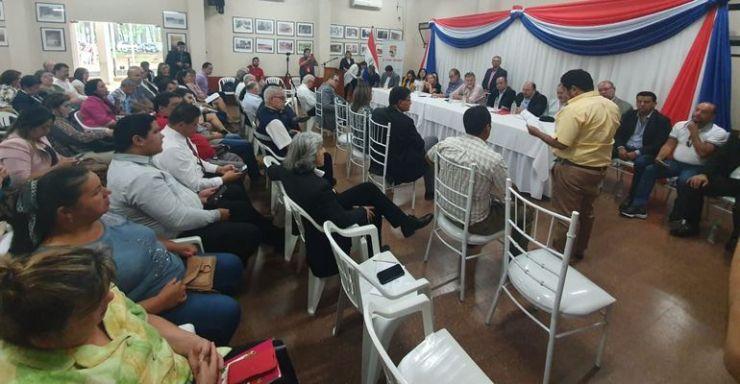 La presentación del proyecto de ley  se realizó en la gobernación del Alto Paraná.