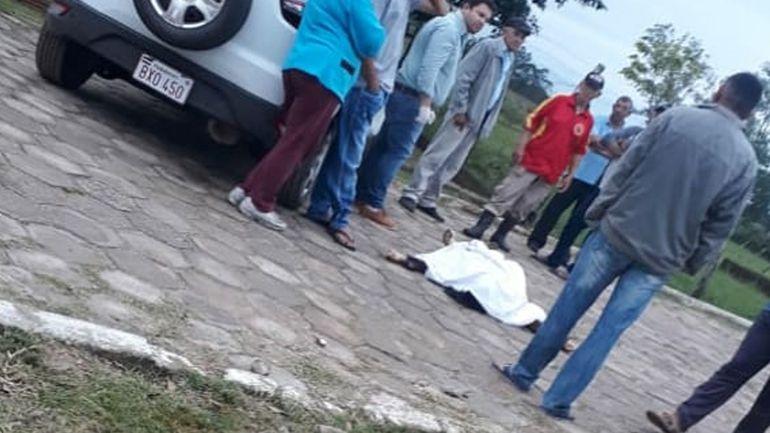 Feminicidio en Laureles, Ñeembucú.