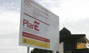 Una de las obras aprobadas en Sevilla  del Plan E. RAÚL DOBLADO