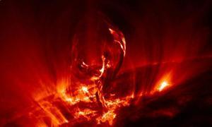 La tormenta solar del fin del mundo