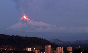Erupciones volcánicas explosivas, la nueva amenaza del terremoto de Chile