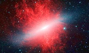 ¿Quién envía ondas de radio desde la galaxia M82?