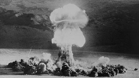 Una de las puebas nucleares realizadas por la URSS. ABC