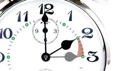 Esta noche retrasa la hora de tu reloj a las 300 sern