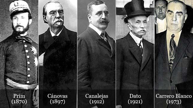 Resultado de imagen de Magnicidios en España