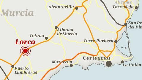 El choque de las placas ibérica y africana provocó el terremoto en Murcia