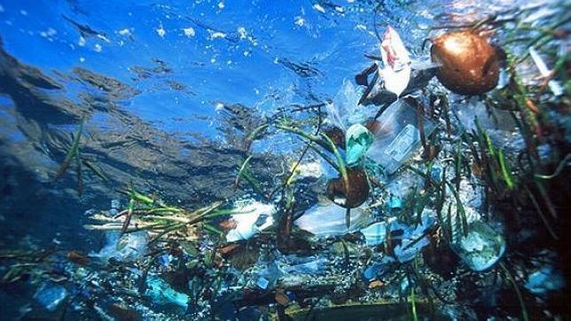 Así es la gigantesca sopa de plástico que flota en el Pacífico