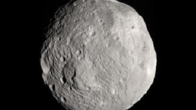 La sonda Dawn llega mañana a Vesta