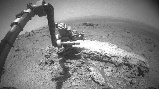 El Opportunity detecta en Marte unas rocas nunca vistas