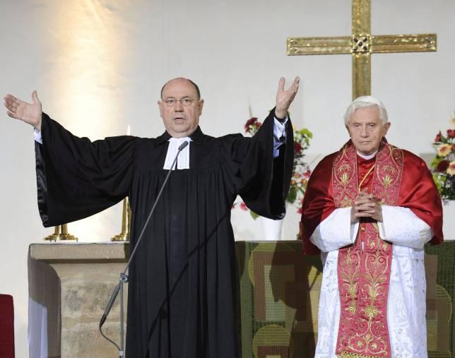 El Papa pide a los protestantes luchar juntos contra la descristianización