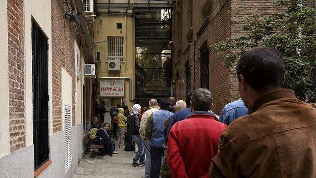 La clase media se suma al carro de la pobreza