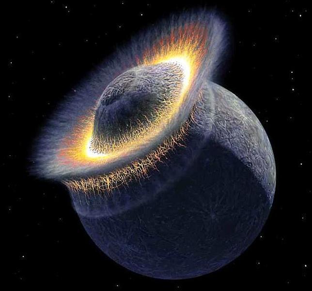 Sin rastro de Theia, el planeta perdido