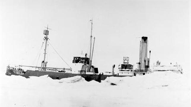 El barco fantasma que navegó 40 años a la deriva